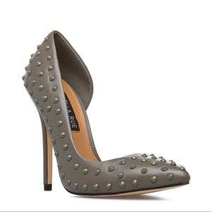 Shoedazzle Izabella Rue Darcel spiked stud heels